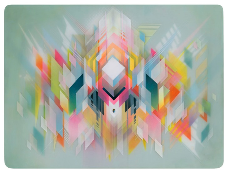 Francesco Lo Castro bursts of shapes and vibrant colors (via)