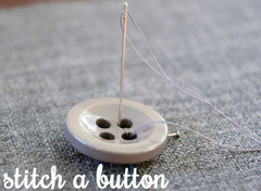 Sew a button