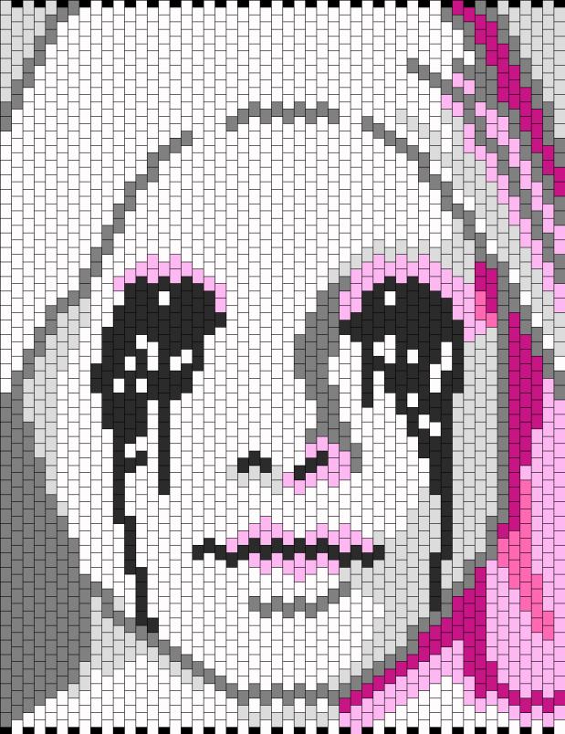 Obligatory scary nun pattern